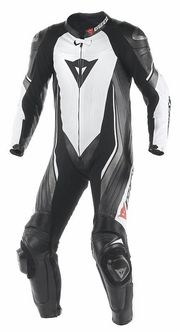 TRICKSTER EVO C2 1 PIECE PERFORATED SUIT WHITE BLACK ANTRACITE (938)